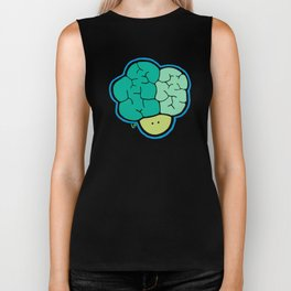Broccoli Head Biker Tank