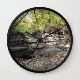 Hanging Rock & Peavine Hollow Series, No. 24 Wall Clock