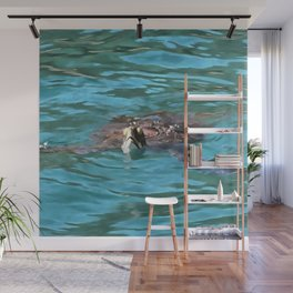 Loggerhead Sea Turtle Wall Mural