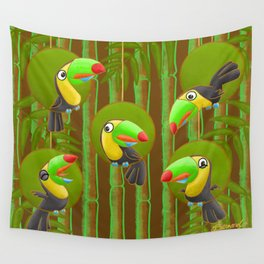 Toucan Party! Wall Tapestry