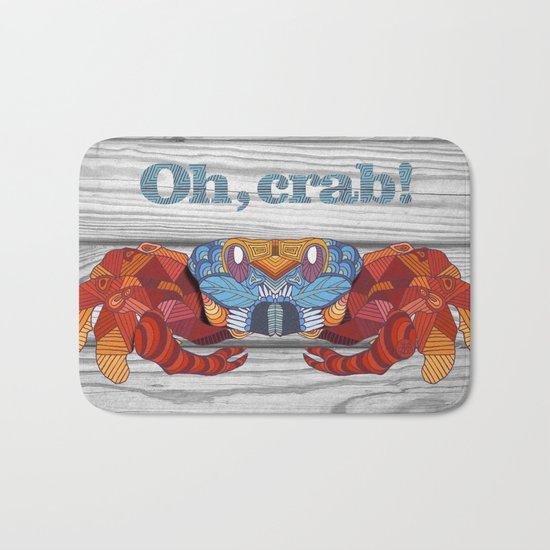 Oh, Crab! Bath Mat