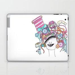 365 cabelos - sewing Laptop & iPad Skin