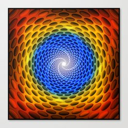 Spiral Out Canvas Print