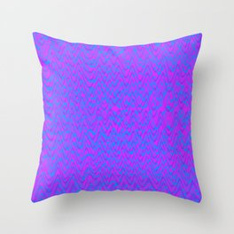 color waves 2 Throw Pillow