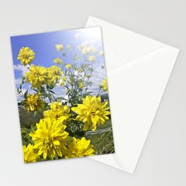 POWER FLOWER Stationery Cards