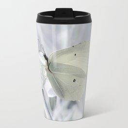 Butterfly White 80 Travel Mug