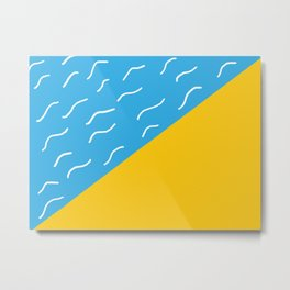 pop art beach Metal Print