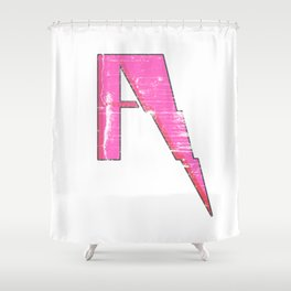A to Z(iggy) Shower Curtain