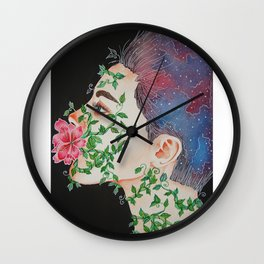 The Power of Words Wall Clock