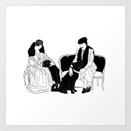 GERTIE Art Print