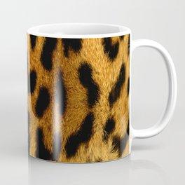 Faux Leopard Skin Pattern Coffee Mug
