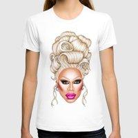 rupaul T-shirts featuring RuPaul Blonde  by dannydax