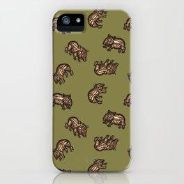 Baby Malayan tapir iPhone Case