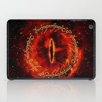 gondor iPad Cases featuring Sauron The Dark Lord by neutrone
