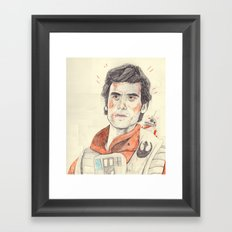 poe ft. bb-8 Framed Art Print