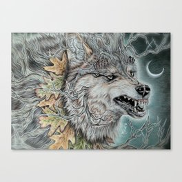 Beast of the North  Canvas Print