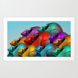 Holocronix Art Print