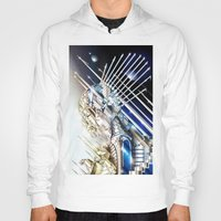 sci fi Hoodies featuring Sci-Fi Series 1 by eos vector