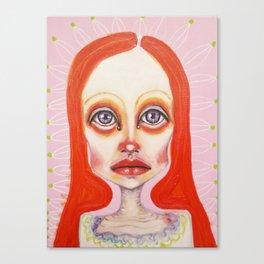pink orange Canvas Print