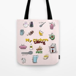 My kitchen story Tote Bag