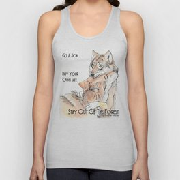 MFM: Stay Out of the Forest Unisex Tank Top