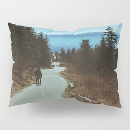 Path up the Great Smoky Mountains Pillow Sham