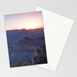 Beautiful Sunrise in the Grand Canyon Stationery Cards