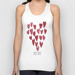 Bisous Bisous... Unisex Tank Top