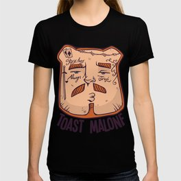Toast Malone Rapper Meme T-Shirt T-shirt