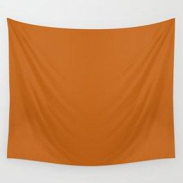 "Orange ""Autumn Maple"" Pantone color Wall Tapestry"