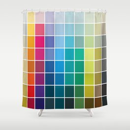 Colorful Soul - All colors together Shower Curtain