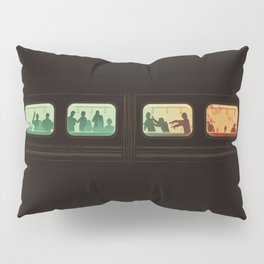 Ground Zero - Zombie Subway Pillow Sham