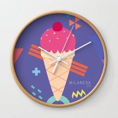 Ice Cream II Wall Clock