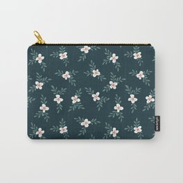 Evening Blooms Carry-All Pouch