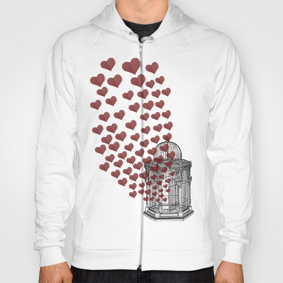 Let Love Out Hoody