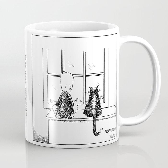 assume awe Coffee Mug