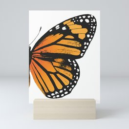 Monarch Butterfly | Right Butterfly Wing | Vintage Butterflies | Mini Art Print
