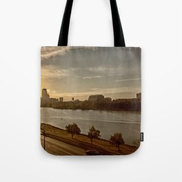 Charlie The River Tote Bag