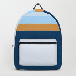 Abstract Retro Layers Backpack