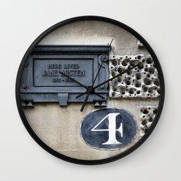 Following Jane Wall Clock