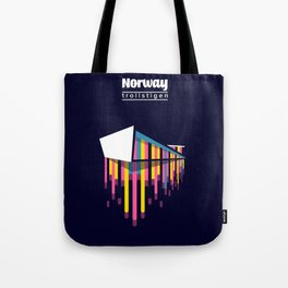 Norway - the path of the trolls Tote Bag