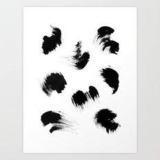 brush Art Print
