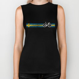 Cyclist Flag Sweden Swedish SE Bike Race Cycling Biker Tank