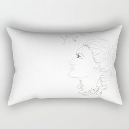 Spring in the soul Rectangular Pillow