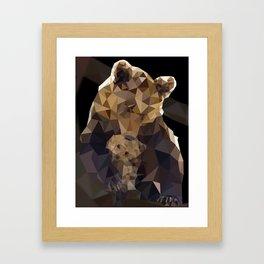 Momma bear Framed Art Print