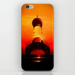 Lighthouse romance iPhone Skin