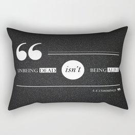 Dead or alive Rectangular Pillow