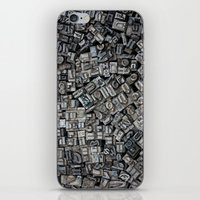 letters iPhone & iPod Skins featuring Letters, Letters, Letters by Ehud Neuhaus