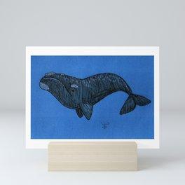 Whale Mini Art Print