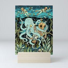 Diver Mini Art Print